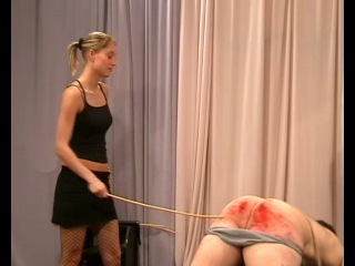 Cruel Amazons - Caning Session